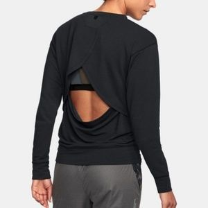 Under Armour Unstoppable Open Back Crew Sweater